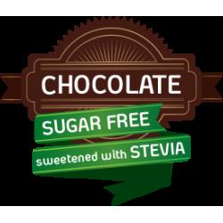 Ciocolata belgiana cu lapte indulcita cu stevia
