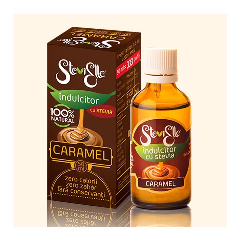 Indulcitor cu stevia si aroma naturala de caramel