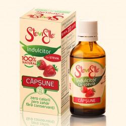 Îndulcitor din Stevia cu aromă de Căpșune